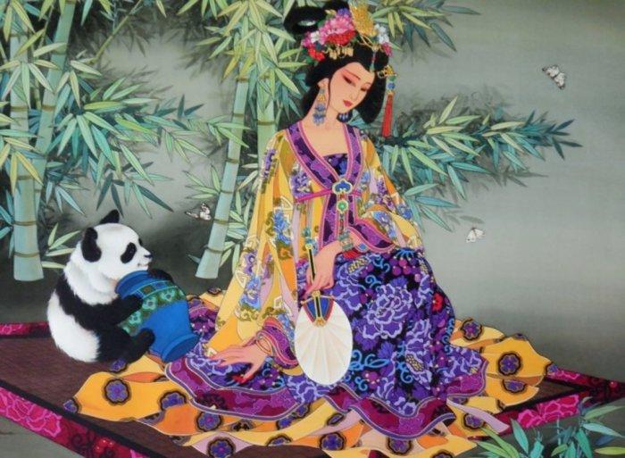 Секреты в бамбуковом лесу. Автор: Caroline Young.