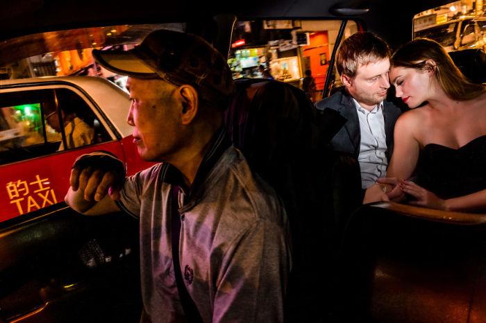В такси. Автор: Carsten.