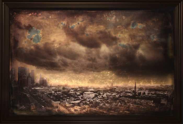 Тучи над городом. Автор: Casper Faassen.