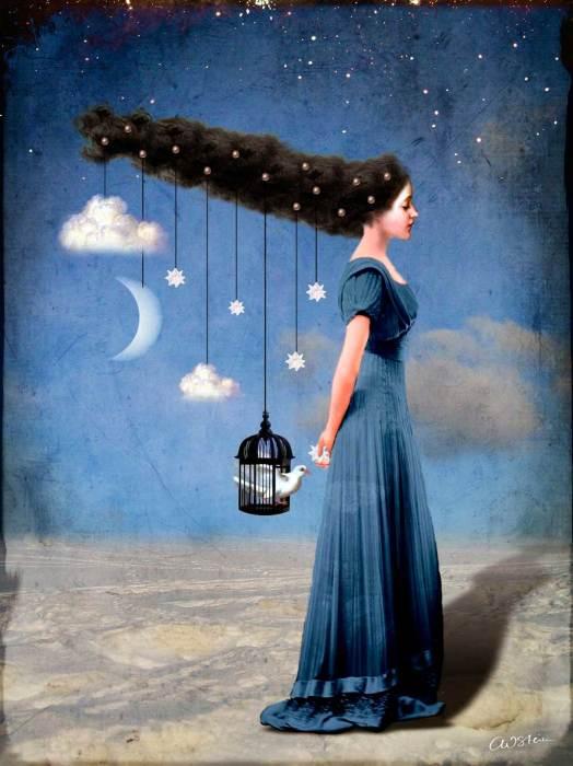 Ночь пришла. Автор: Catrin Welz-Stein.