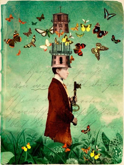 Ключи от всех тайных дверей и потайных мыслей. Автор: Catrin Welz-Stein.