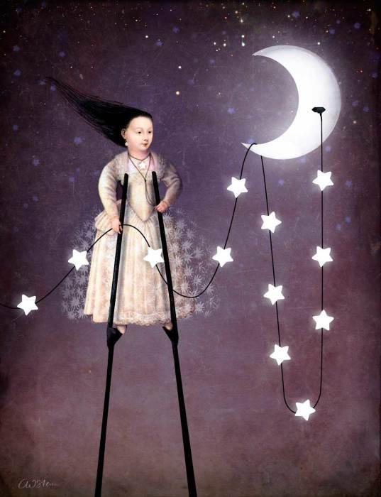 Время зажигать звёзды. Автор: Catrin Welz-Stein.