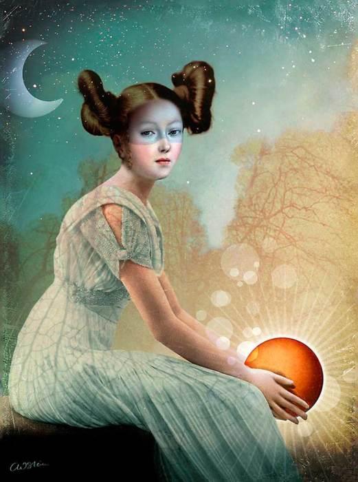 Солнце в руках. Автор: Catrin Welz-Stein.