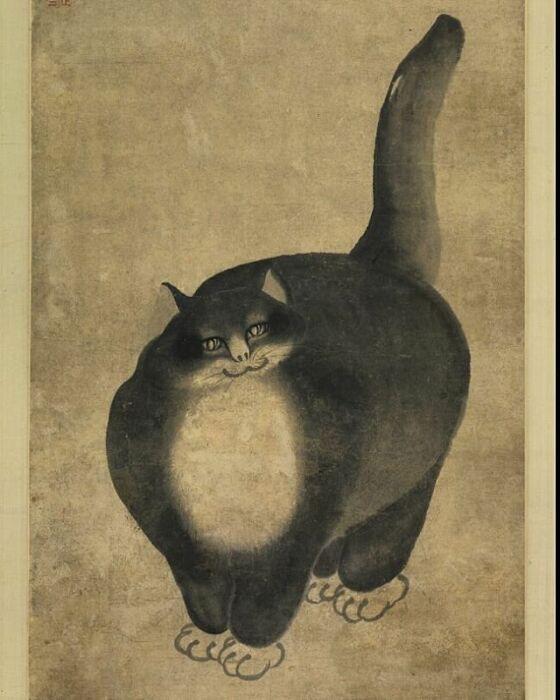 Минь Чжэнь – Чёрный кот. \ Фото: google.com.