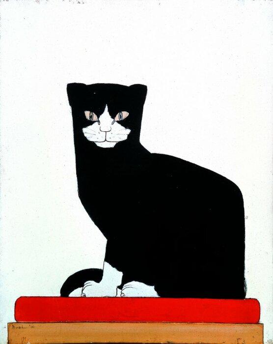 Барт ван дер Лек – Кошка. \ Фото: twitter.com.