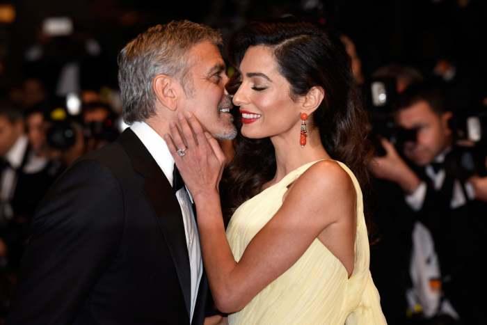 Джордж Клуни с любимой женой. \ Фото: popsugar.com.