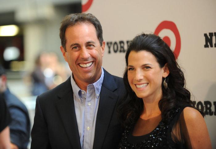Джерри Сайнфелд и Джессика Склер. \ Фото: zimbio.com.
