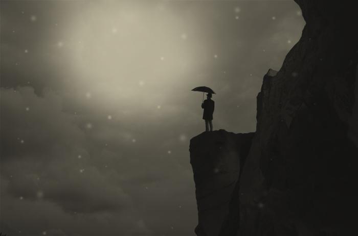 Той зимой. Блестящий фотопроект о таинственном одиноком человеке. Автор фото: Сезар Блэй (Cesar Blay).