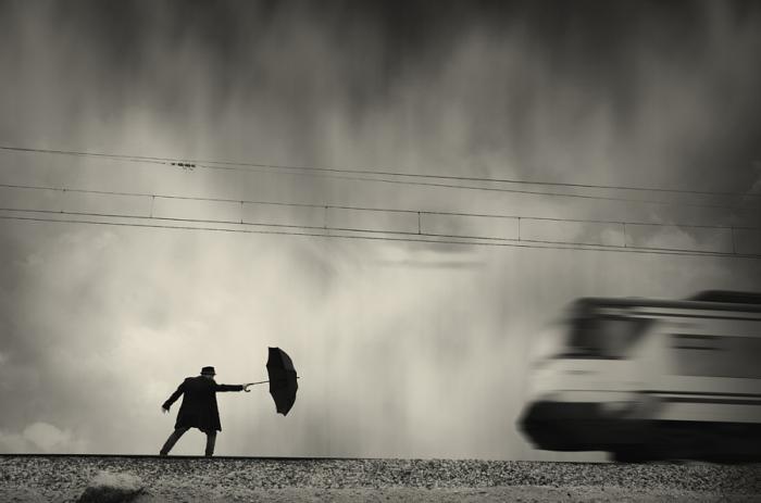 Дон Кихот. Блестящий фотопроект о таинственном одиноком человеке. Автор фото: Сезар Блэй (Cesar Blay).