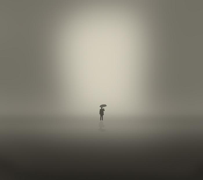 Хипстер. Блестящий фотопроект о таинственном одиноком человеке. Автор фото: Сезар Блэй (Cesar Blay).