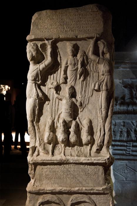 Памятник Порфирию, воздвигнутый фракцией Зелёных на Ипподроме, 6 век н. э. \ Фото: thehistoryofbyzantium.com.