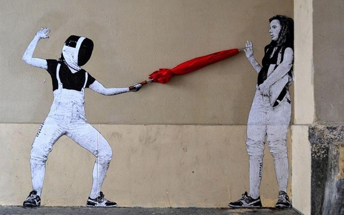 Философские граффити, которые словно стали продолжением реальной жизни