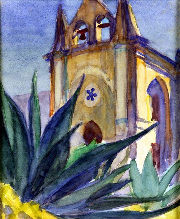 Мексиканские акварели, Чарльз Имз. \ Фото: pinterest.com.