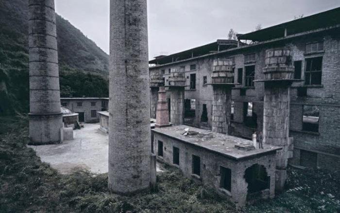 Заброшенные городские и промышленные пейзажи Китая. Фотограф: Чен Чжаган (Chen Jiagang).
