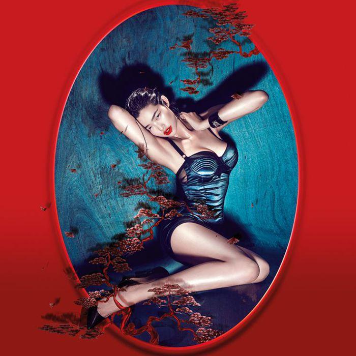 Китайский календарь. Яркие и эффектные снимки от фотографа Chen Man.