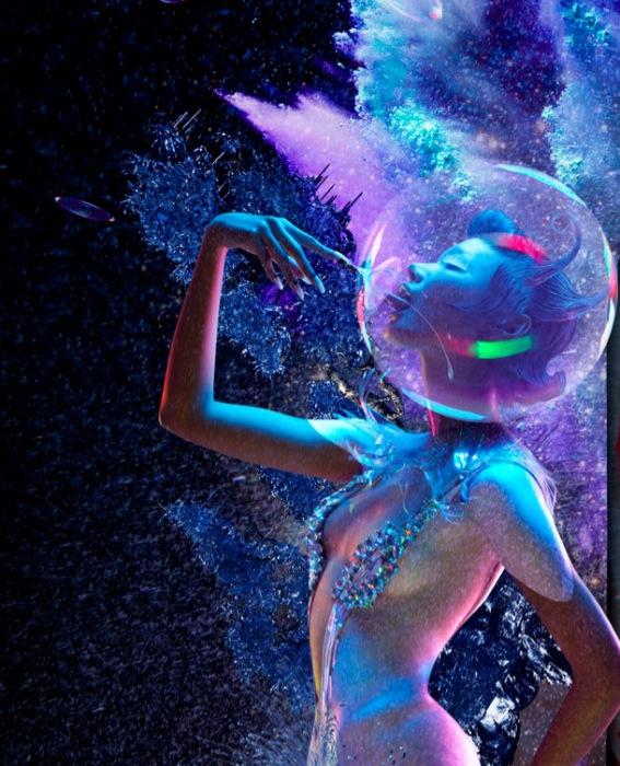 Мыльные пузыри. Яркие и эффектные снимки от фотографа Chen Man.