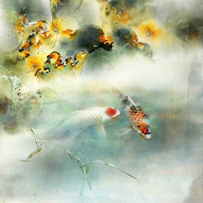 Рыбки. Автор: Ching Keck How.