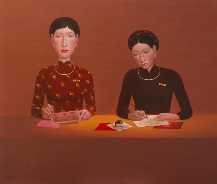 Офисная работа. Автор: Chinh Nguyen Khac.