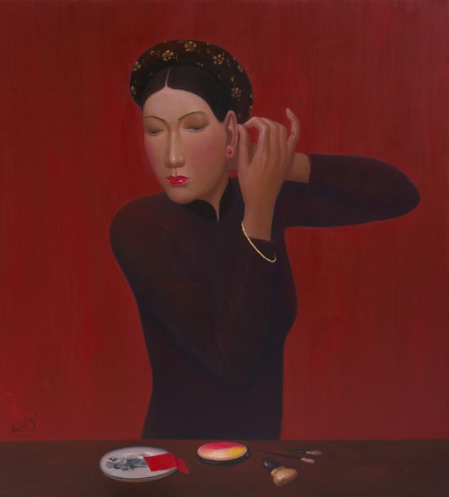 Странности современной жизни на неоднозначных картинах вьетнамского художника
