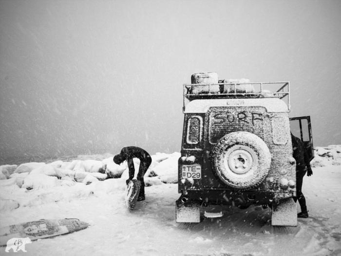 Снежный сёрфинг. Автор фото: Chris Burkard.