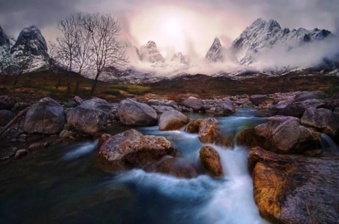 Невероятный пейзаж от Chris Kaddas.