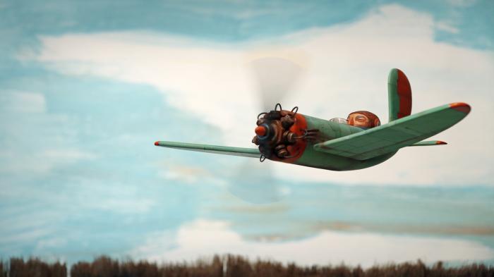 Человек, машина и воздух. Автор: Chris Sickels.