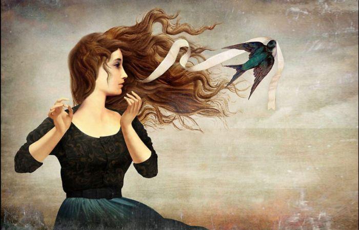Лента в волосах. Автор: Christian Schloe.