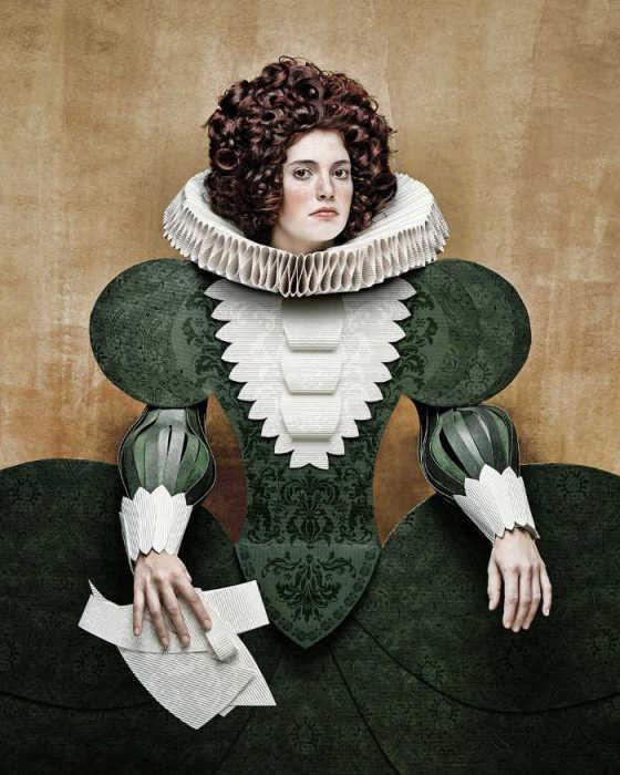 Портрет в стиле эпохи Ренессанса. Автор: Christian Tagliavini.