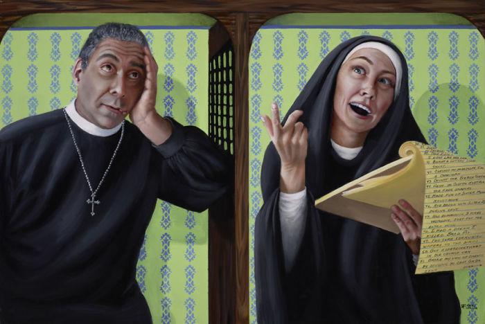 Сестра Мэри имела множество грехов. Автор: Christina Ramos.