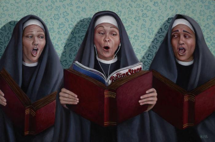 Сестра Рита была повстанцем. Автор: Christina Ramos.