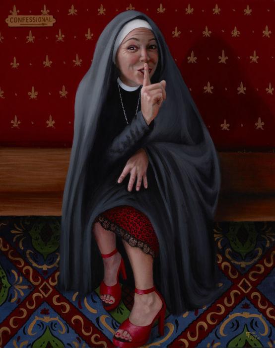 Сестра Виктория имеет секрет. Автор: Christina Ramos.