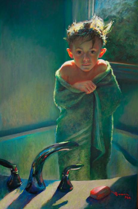 Холодно, согрей меня. Автор: Christine Swann.