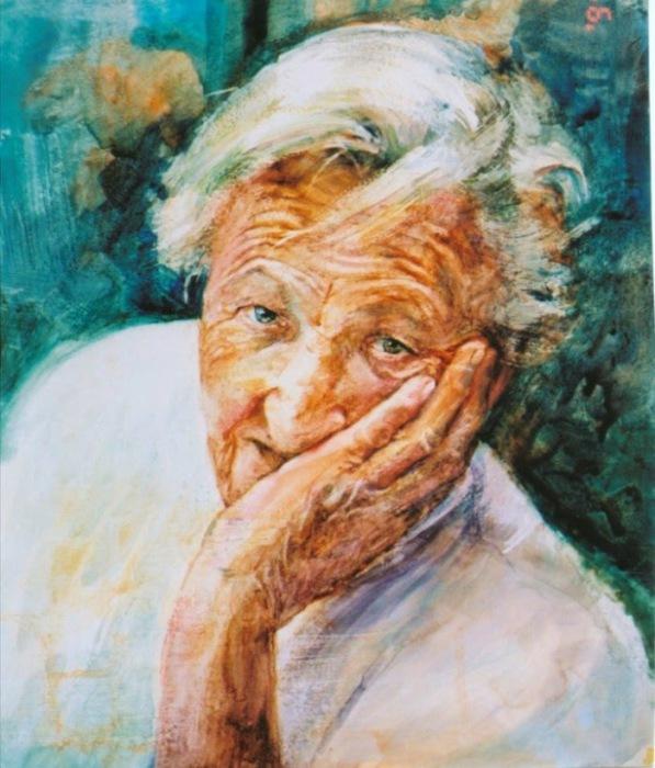 Портрет женщины. Автор: Christine Swann.