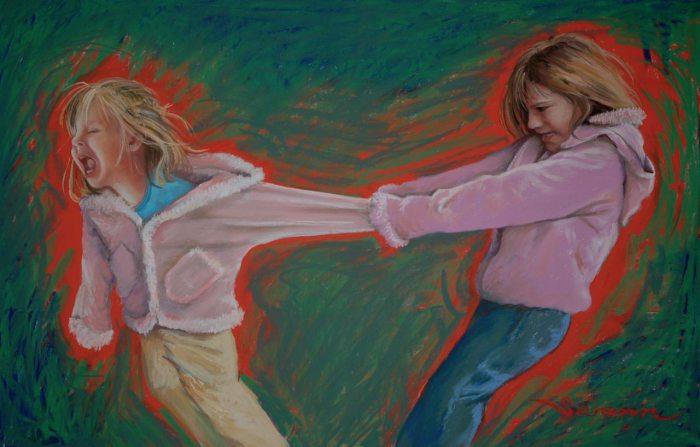 Детские обиды. Автор: Christine Swann.