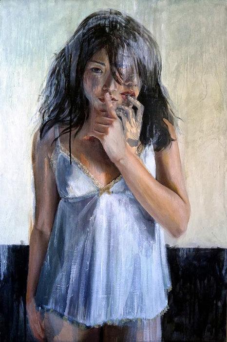 Картины со скрытым сексуальным подтекстом. Работы Кристин Ву (Christine Wu).