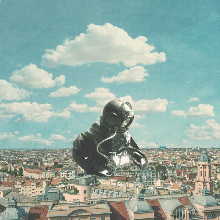 Наблюдение марсиан. Автор: Christo Makatita.