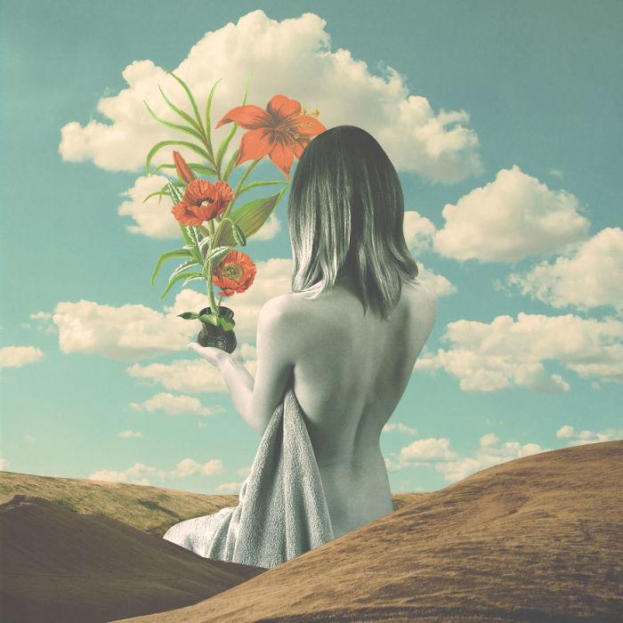 Красные цветы. Автор: Christo Makatita.