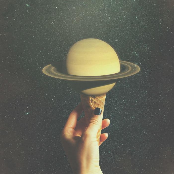 Сатурн. Автор: Christo Makatita.