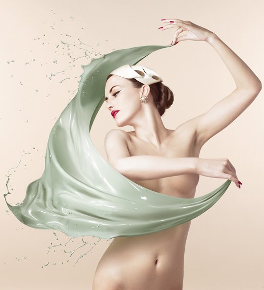 Пин-ап. Сюрреалистические работы от Christophe Gilbert.
