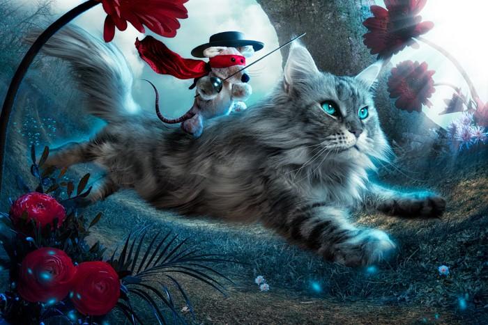 Бесстрашный Мышь. Автор: Christophe Kiciak.