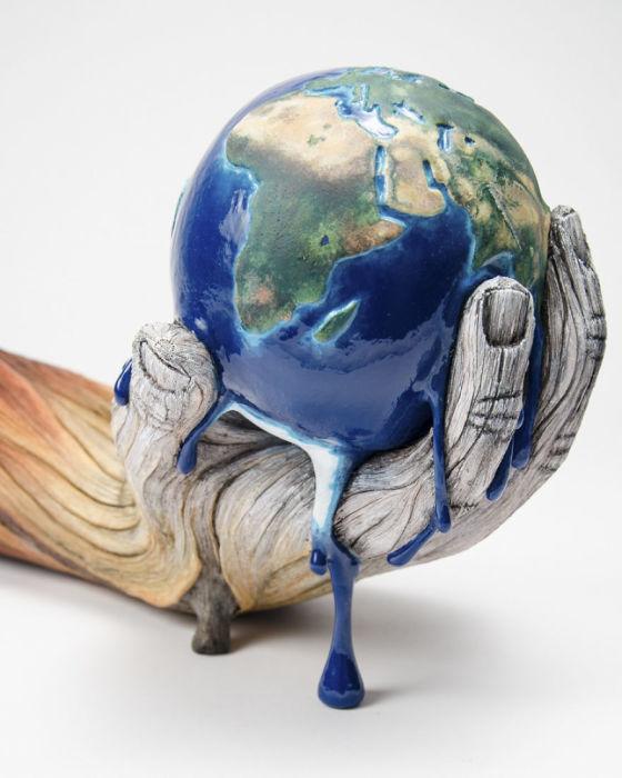 Берегите планету. Автор: Christopher David White.