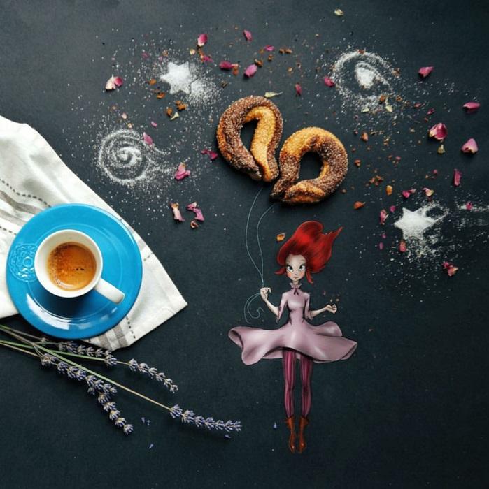 Ветер. Автор: Cinzia Bolognesi.