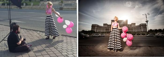Воздушные шары. Автор: Ciprian Strugariu.