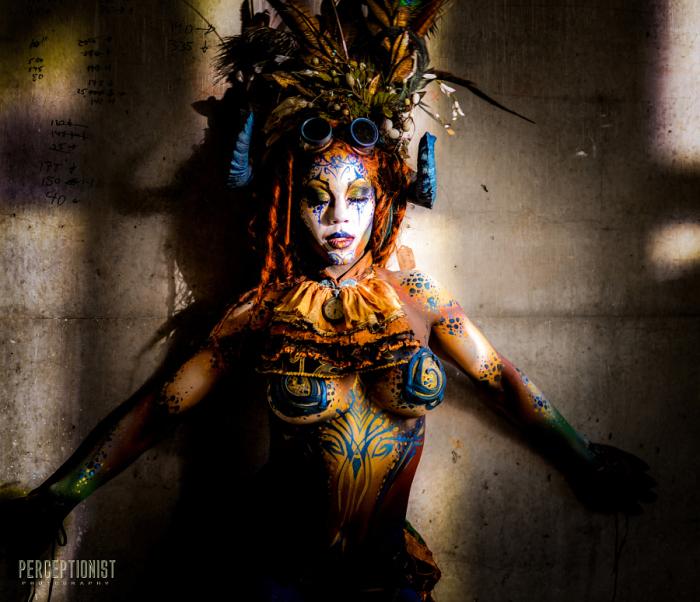 Фестиваль боди-арта Circus North. Торонто. Медитативное состояние. Автор фото: Nippun Goyal.