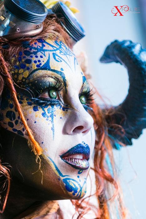 Фестиваль боди-арта Circus North. Торонто. Ожившая сказка. Автор фото: Эми Нгуен.