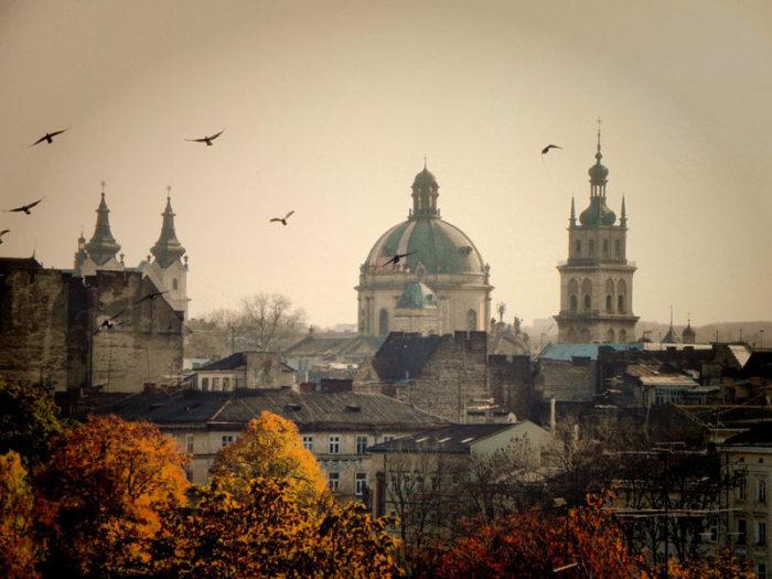 Призрачный облик Львова.