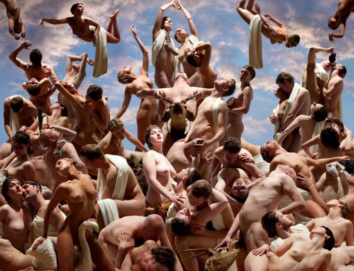 Ангелы и демоны. Автор фото-постановок: Клаудия Рогге (Claudia Rogge).