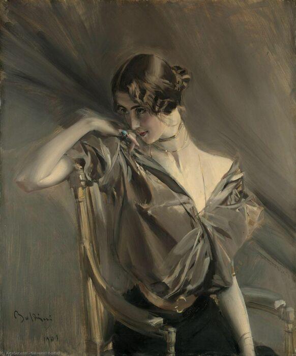 Клео де Мерод Джованни Больдини, 1901 год. \ Фото: pinterest.co.kr.
