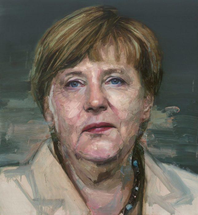 Ангела Меркель. Автор: Colin Davidson.