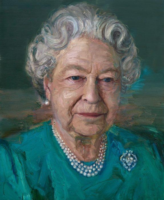 Королева Елизавета II. Автор: Colin Davidson.